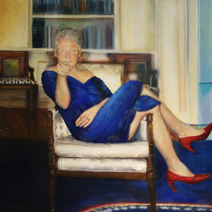SP.Bill clinton portrait